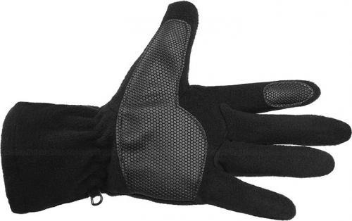 Hi-tec Rękawiczki Bage czarno-szare r. L/XL