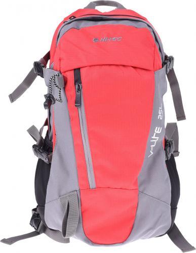 Hi-tec Plecak FELIX 25L RED/DARK GREY/DARK GREY ZIPPER