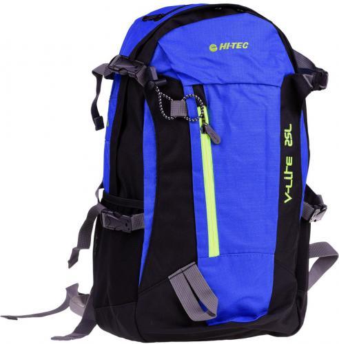 Hi-tec Plecak FELIX 25L BLUE/BLACK/LIME ZIPPER