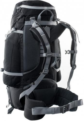 Hi-tec Plecak turystyczny TRAVERSE 65L czarny