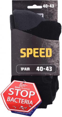 MAGNUM Skarpety męskie Speed Sock Black/grey r. 36-39