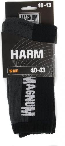 MAGNUM Skarpety męske Magnum Speed Sock Black/grey r. 44-47