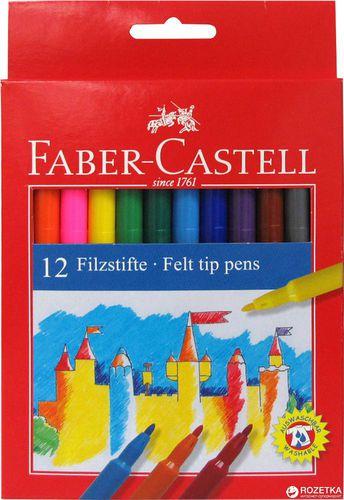 Faber-Castell Flamastry 12 kolorów