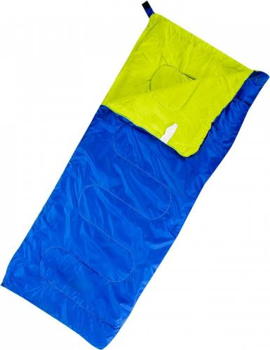 MARTES Śpiwór PASTO ROYAL BLUE/LIME