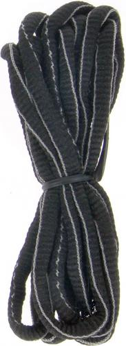 Martes Sznurówki Lace Stripe Black 75cm