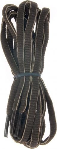 MARTES Sznurówki Lace Stripe Brown 75cm