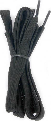 Martes Sznurówki Lace Flat Black 75cm