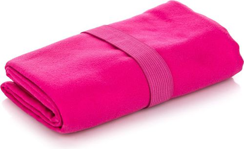 MARTES Ręcznik szybkoschnący Tewa różowy 90x65cm