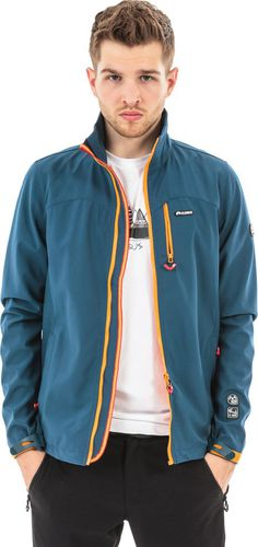 ELBRUS Męska Kurtka Scabby Blue Wing Teal/Orange r. XL