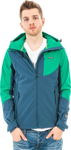 Elbrus Kurtka Randal Softshell Blue Wing Teal/Bosphorus r. XL