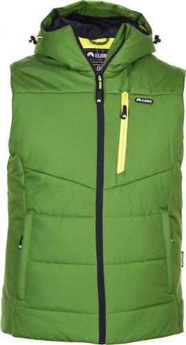 Elbrus Męska Kamizelka Clint Kelly Green/Yellow Green r. XXL