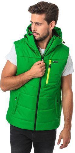 ELBRUS Męska Kamizelka Clint Kelly Green/Yellow Green r. M