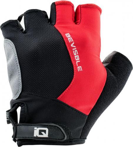 IQ Rękawiczki rowerowe Tour Black/fiery Red/black r. L