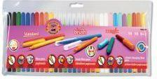 Koh-I-Noor Zestaw 30 flamastrów Standard, Brush i Magic - WIKR-935938