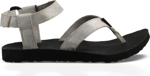 TEVA Sandały damskie W'S Original Sandal Leather Metallic silver r. 41 (1007550-SLVR-10)