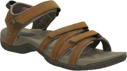 TEVA Sandały damskie Tirra Leather Brązowe r. 41