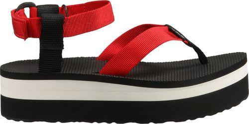 TEVA Sandały W'S Flatform Sandal Czerwony  r. 36 (1008843-FON-5)