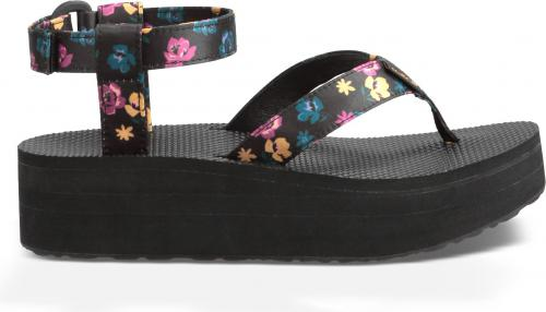 TEVA Sandały W'S Flatform Sandal Floral r. 36 (1010155-BLK-5)