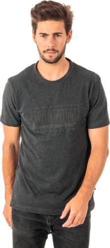 Magnum Koszulka Męska Essential Dark Grey Melange r. L