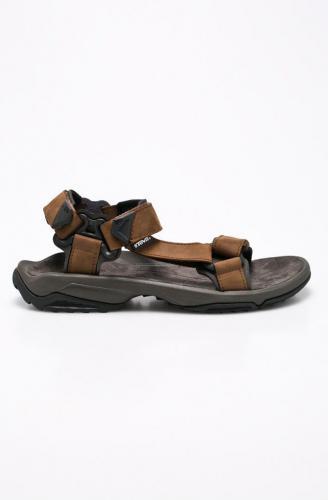 TEVA Sandały męskie M'S Terra Fi Lite Leather brązowe r. 45.5