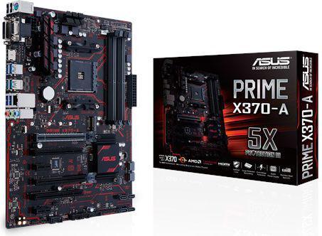 Płyta główna Asus Prime X370-A, X370, SATA3, DDR4, USB3.1 gen,2, ATX (90MB0UN0-M0EAY0)
