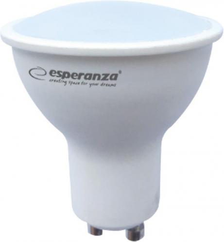 Esperanza LED GU10, 6W, 580lm (ELL142)
