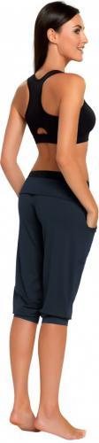 Gwinner Spodnie damskie Loose Sport Capri Nair czarne r. XXL (424522010000)