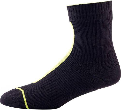 SEALSKINZ SS/ skarpety/ U'S Road Ankle with Hydrostop, Black/ Illuminous, kolor czarno-żółty, roz. L (111162007030)