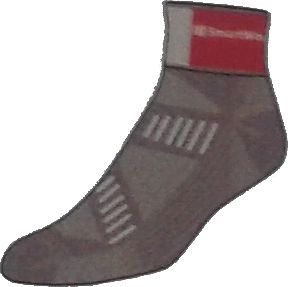 Smartwool Skarpety damskie W'S PhD Cycling Light Mini, 018, L brązowe (SW376018L)