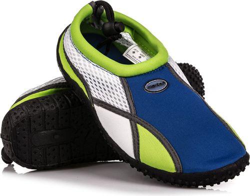 MARTES Buty dla dzieci Nerco Blue/Green/White r. 35