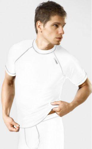 Gwinner Koszulka męska Classic V Dry Line biała r. S
