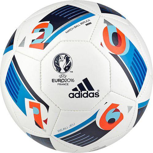 Adidas Piłka nożna EURO 2016 Beau Jeu Mini AC5427 Adidas  roz. uniw (AC5427)