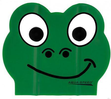 Aqua-Speed Czepek pływacki Zoo Latex Frog (49983)