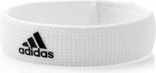 Adidas Opaska Podtrzymująca Getry Szer. 2 cm Biało-czarna