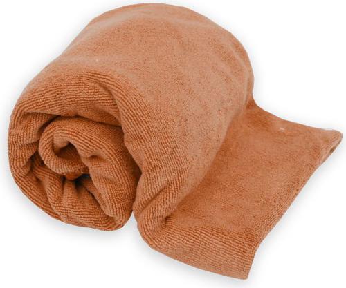 Rockland Ręcznik frotte szybkoschnący, pomarańczowy L (141)