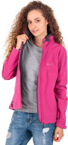 BERG OUTDOOR Kurtka damska Anglem Softshell Jacket różowa r. S (P-10-HK3221104-651-S)