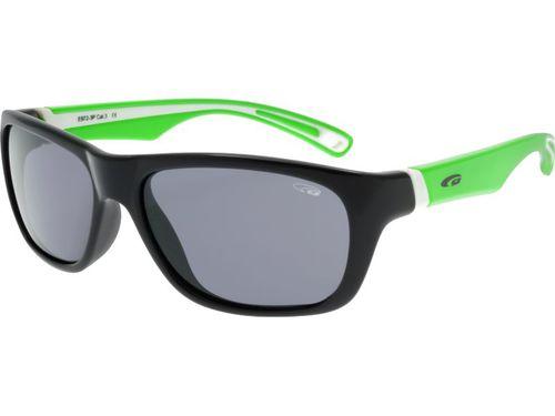 Goggle Okulary polaryzacyjne dziecięce Mika E972-3P Goggle Black/Green roz. uniw (E972-3P)