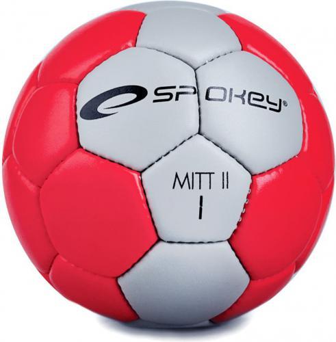 Spokey Piłka ręczna MITT II czerwono-szara r. 1 (834053)