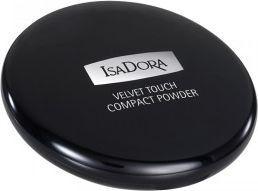 IsaDora Velvet Touch puder prasowany 10 Sheer Transparent 10g