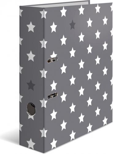 Segregator Herma A4 Sterne grau mit weißem Stern (7194)