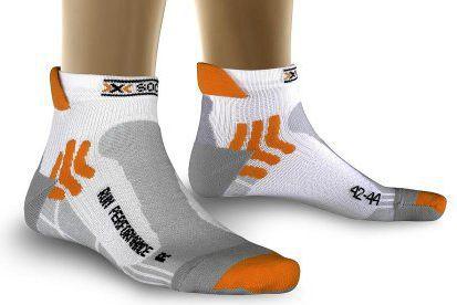 X SOCKS Skarpety X-Socks RUN PERFORMANCE kolor biało-szary, roz. 39-41 [K: W000/X06 R: 39-41] (025-L0000-X20039X06002-158)