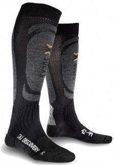 X SOCKS Skarpety X-Socks SKI DISCOVERY czarno-szary, roz. 35-38 [K: B014/X13 R: 35-38] (025-Z0000-X20310X13001-153)