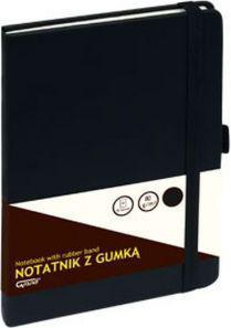 KW Trade Notatnik GRAND z gumką A5, 80 kartek kratka (WIKR-1029875)