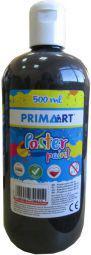 PRIMART Farba plakatowa 500ml czarna