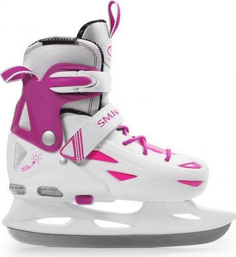SMJ sport Łyżwy hokejowe Ice 087 Led White r. 32-35