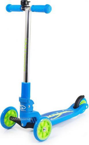 SMJ sport Hulajnoga dziecięca trójkołowa PSCT003 blue Boy
