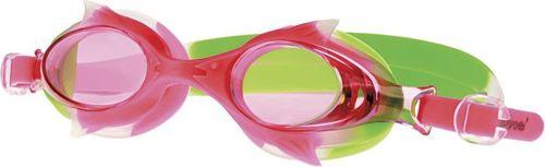 Spokey Okulary pływackie dla dzieci WALLY czerwono-zielone (835354)