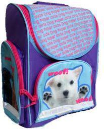 Starpak Tornister szkolny Puppy fioletowy (PUPPY24 15)