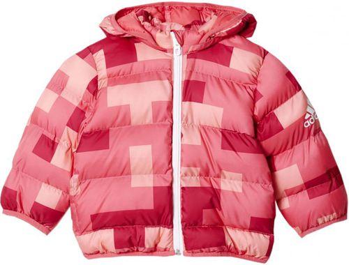 Adidas Kurtka dziecięca Synthetic Down Infants różowa r. 86 (AY6776)
