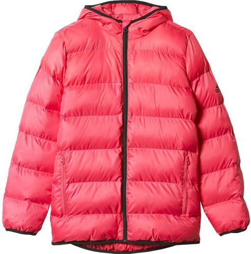 Adidas Kurtka Synthetic Down Youth Girls Back To School Jacket Junior AY6787 różowa r. 170